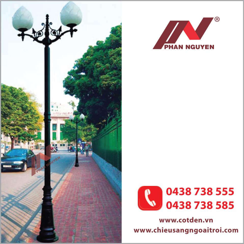 Phan Nguyễn Cung cấp Cột đèn sân vườn tại Tp.HCM chất lượng, giá tốt