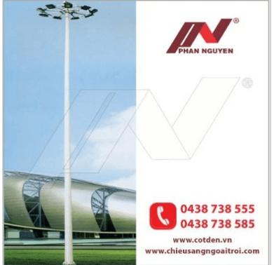 Phan Nguyễn địa chỉ sản xuất, phân phối Cột đèn cao áp, cột thép tại Bình Dương