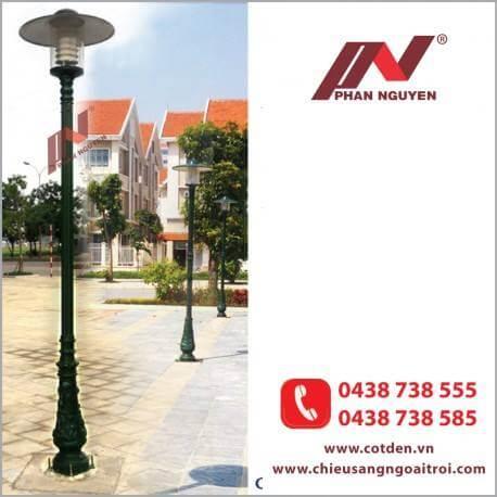 Địa chỉ cung cấp trụ đèn trang trí, cột đèn sân vườn đẹp tại Tuyên Quang