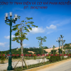 Trụ đèn trang trí, cột chiếu sáng sân vườn tại Kiên Giang được sản xuất bởi Phan Nguyễn