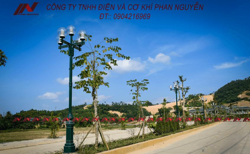 Phan Nguyễn sản xuất trực tiếp Cột đèn cao áp, cột thép mạ kẽm phân phối tại Bình Định