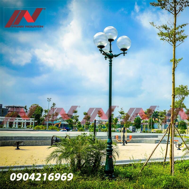 Phan Nguyễn - Địa chỉ sản xuất, phân phối cột đèn sân vườn tại Hà Nội