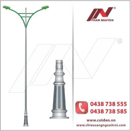 Phan Nguyễn địa chỉ sản xuất, phân phối Cột đèn cao áp, cột thép tại Điện Biên